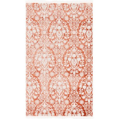 Patenaude Terracotta Area Rug Rug Size: Rectangle 9 x 12