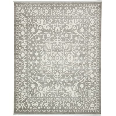 Bryant Light Gray Area Rug Rug Size: Rectangle 10 x 13