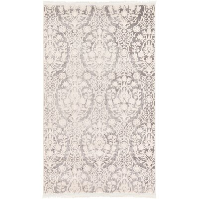 Wilton Light Gray Area Rug Rug Size: 7 x 10