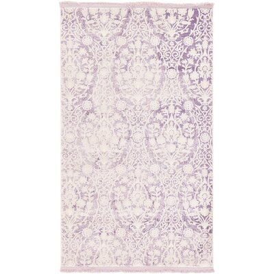 Wilton Purple Area Rug Rug Size: 7 x 10