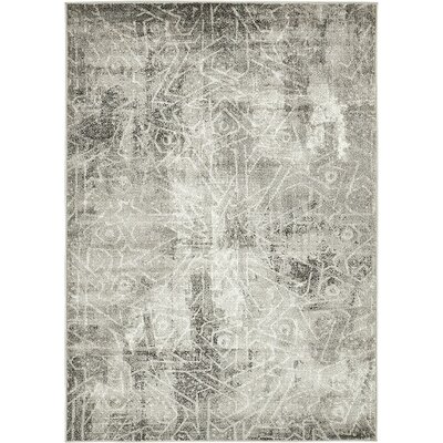 Ford Dark Gray Area Rug Rug Size: 9 x 12