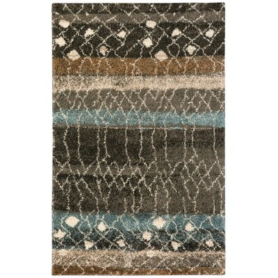 Allendale Brown Area Rug Rug Size: Rectangle 5 x 8