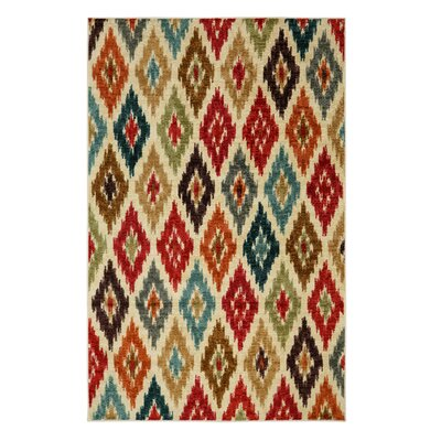 Amberson Red Area Rug