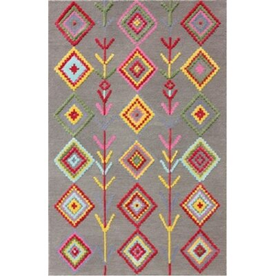 Blokzijl Hand-Tufted Dark Gray Area Rug Rug Size: Runner 23 x 7