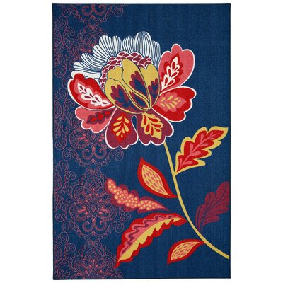 Ruggieri Amaranda Navy Area Rug Rug Size: Rectangle 76 x 10