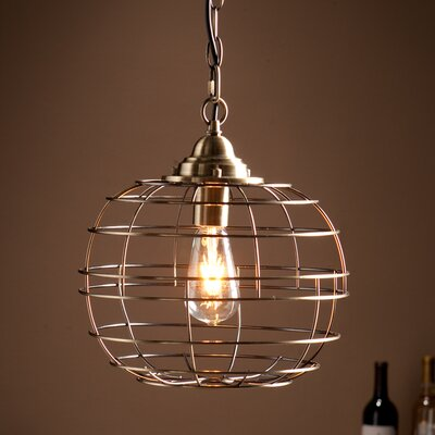 Lyons 1-Light Globe Pendant