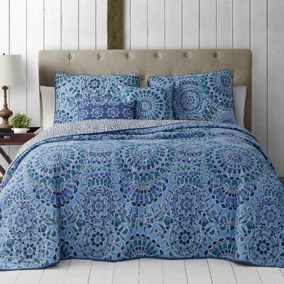 Feroz 5-Piece Quilt Set Size: Queen