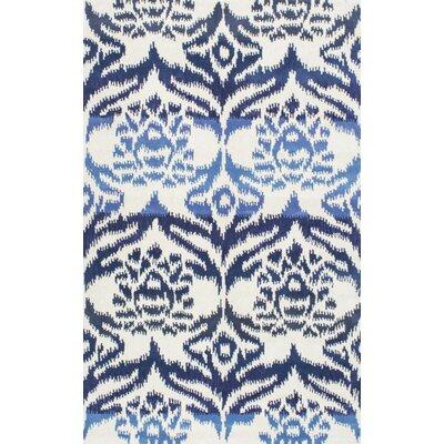 Jain Hand-Tufted Blue Area Rug Rug Size: 8 x 10