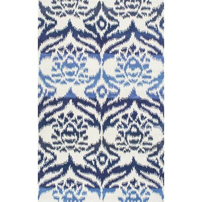 Jain Hand-Tufted Blue Area Rug Rug Size: Rectangle 8 x 10