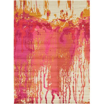 Sakina Orange/Pink Area Rug