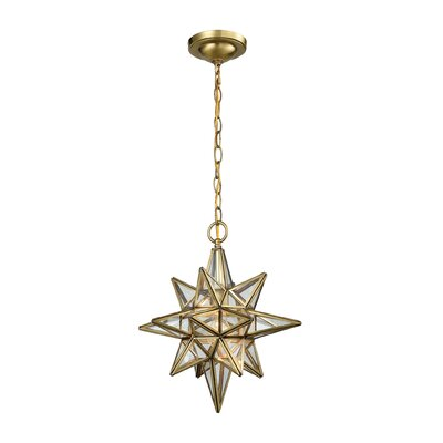 Figueroa 1-Light Geometric Pendant