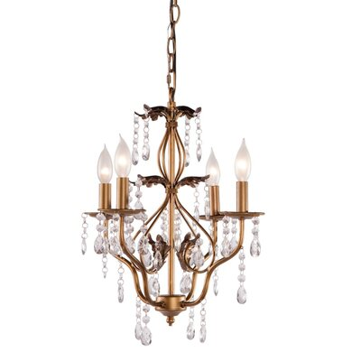 Samir 4-Light Crystal Chandelier