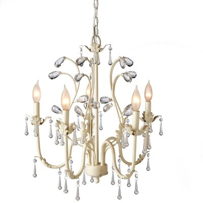 Samir 5-Light Candle-Style Chandelier