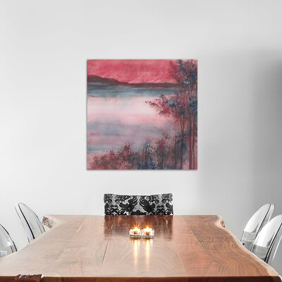 Quiet Time Painting Print on Wrapped Canvas