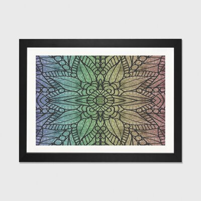 Rainbow Love by Angelika Parker Framed Graphic Art