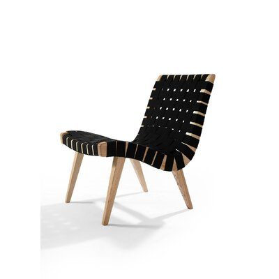 Brookline Lounge Chair Upholstery: Black