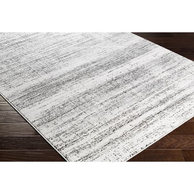 Anvi Gray Area Rug Rug Size: Rectangle 2 x 37