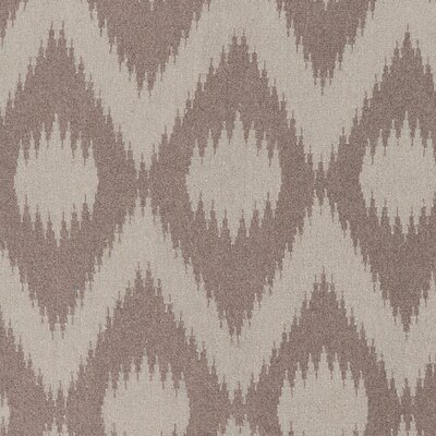 Faith Dark Taupe/Flint Gray Area Rug Rug Size: Runner 26 x 8