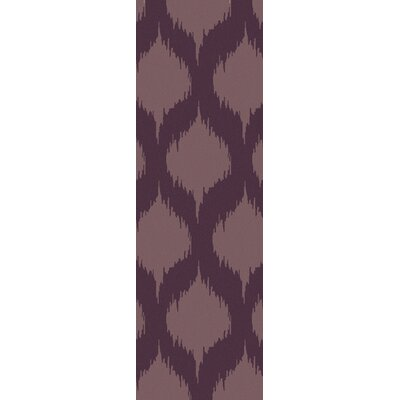 Faith Twilight Mauve Geometric Area Rug Rug Size: 8 x 11