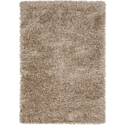 Sina Desert Sand/Tan Rug Rug Size: Rectangle 5 x 8