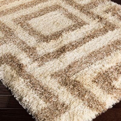 Sina Beige Rug Rug Size: Rectangle 5 x 8