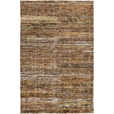 Cadwell Brown Area Rug Rug Size: 5 x 8