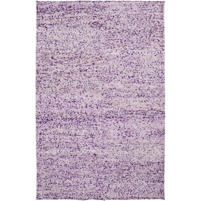 Cadwell Violet Area Rug Rug Size: 5 x 8