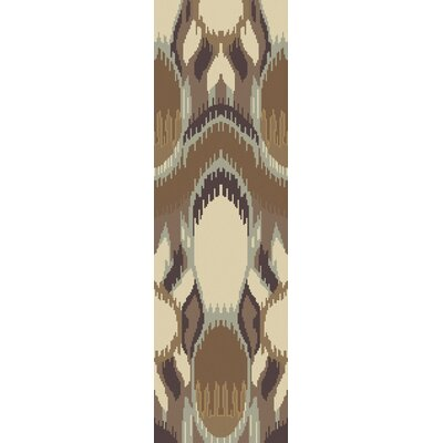 Elvera Brown Area Rug Rug Size: Runner 26 x 8