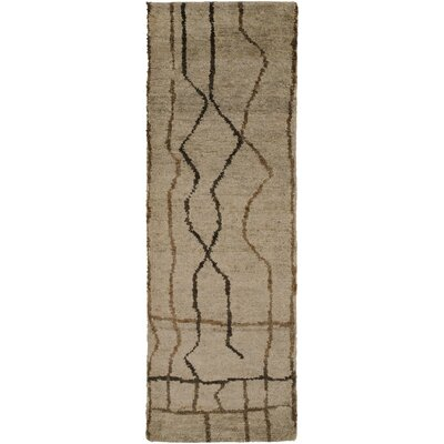Elvera Light Gray Area Rug Rug Size: Runner 26 x 8
