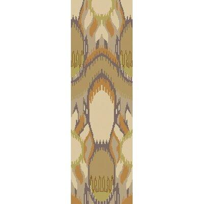 Elvera Green Area Rug Rug Size: Runner 26 x 8