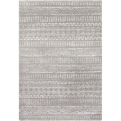 Hayden Gray Area Rug Rug Size: Rectangle 5 x 8