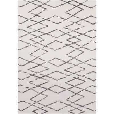 Hayden Ivory Area Rug Rug Size: Rectangle 5 x 8