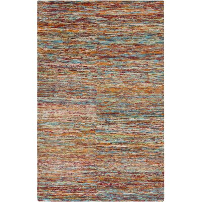 Cadwell Multi-Colored Rug Rug Size: Rectangle 5 x 8