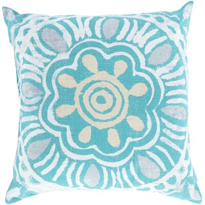 Dazey Sweet Sunburst Outdoor Throw Pillow Size: 26 H x 26 W x 4 D