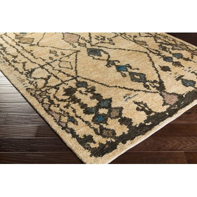 Amsbry Mocha/Taupe Area Rug Rug Size: Rectangle 4 x 6