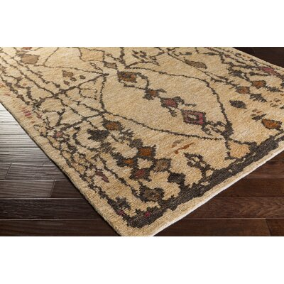 Amsbry Burnt Taupe/Mocha Area Rug Rug Size: Rectangle 9 x 13