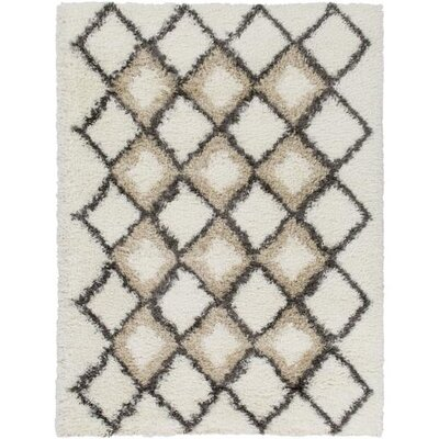 Hauser Ivory/Brown Area Rug Rug Size: Runner 23 x 78