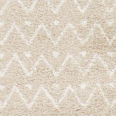 Hauser Beige/Ivory Area Rug Rug Size: Rectangle 52 x 72