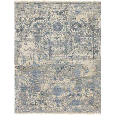 Newburg Hand-Knotted Gray Area Rug