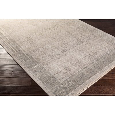 Soussi Hand-Knotted Neutral/Brown Area Rug Rug Size: 2 x 3