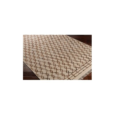 Hassani Hand-Woven Neutral/Brown Area Rug Rug Size: Rectangle 5 x 76