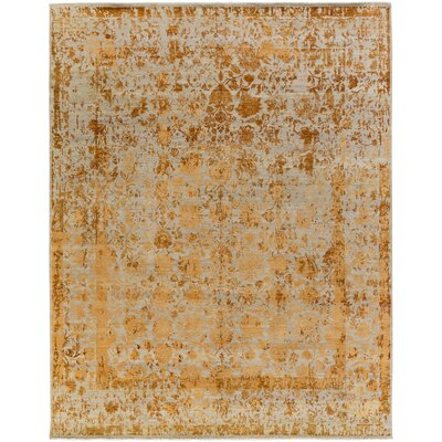 Soussi Hand-Knotted Brown Area Rug