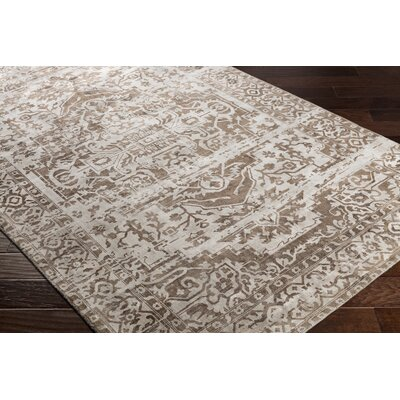 Dollie Hand-Loomed Brown/Neutral Area Rug Rug Size: Rectangle 2 x 3