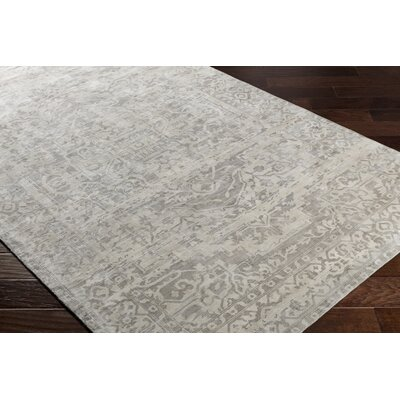 Dollie Hand-Loomed Brown/Neutral Area Rug Rug Size: 5 x 76