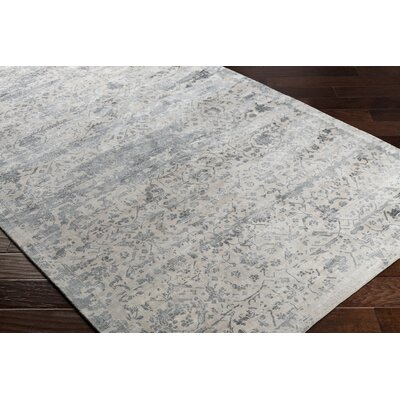 Dollie Hand-Loomed Green/Neutral Area Rug Rug Size: Rectangle 8 x 10