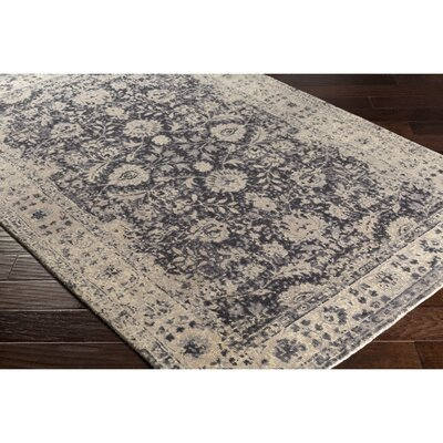 Anselma Hand-Loomed Neutral Area Rug Rug Size: 5 x 76