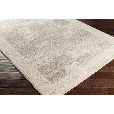 Addora Gray Area Rug Rug Size: Rectangle 4 x 6