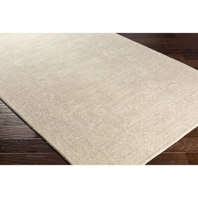 Anselma Hand-Loomed Neutral Area Rug Rug Size: Rectangle 2 x 3