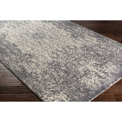 Anselma Hand-Loomed Neutral Area Rug Rug Size: 8 x 10
