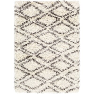 Hutchinson Neutral/Gray Area Rug Rug Size: Rectangle 9 x 12